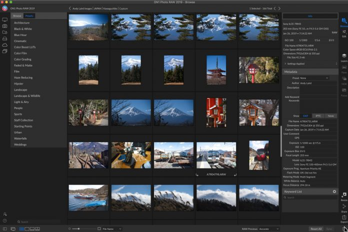 On1 Photo RAW review image editing software